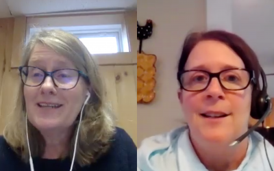 Just For The Health Of It Bonus Episode: Debra Matteson and Gail Senecal
